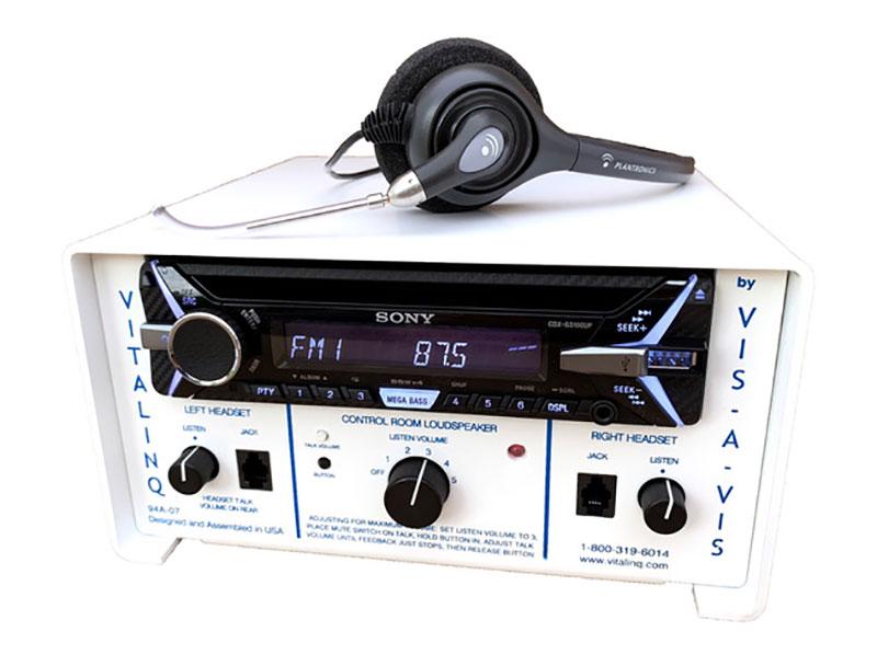Vitalinq Model 94A-07 Intercom and music system