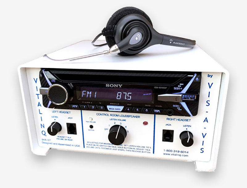 Vitalinq Model 94A-07 Cath Lab Intercom and music system